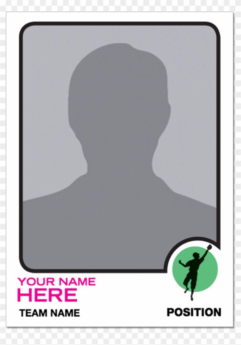 Basketball Card Template In 2021 Baseball Card Template Trading Card Template Baseball Trading Cards