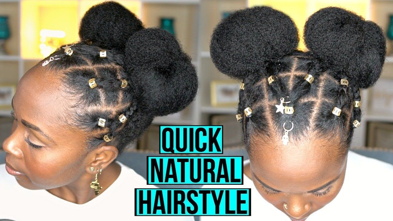 Easy Protective Hairstyle For Fast Hair Growth And Length Retention Na Natural Hair Styles Easy Natural Hair Styles Easy Black Girl Hairstyles