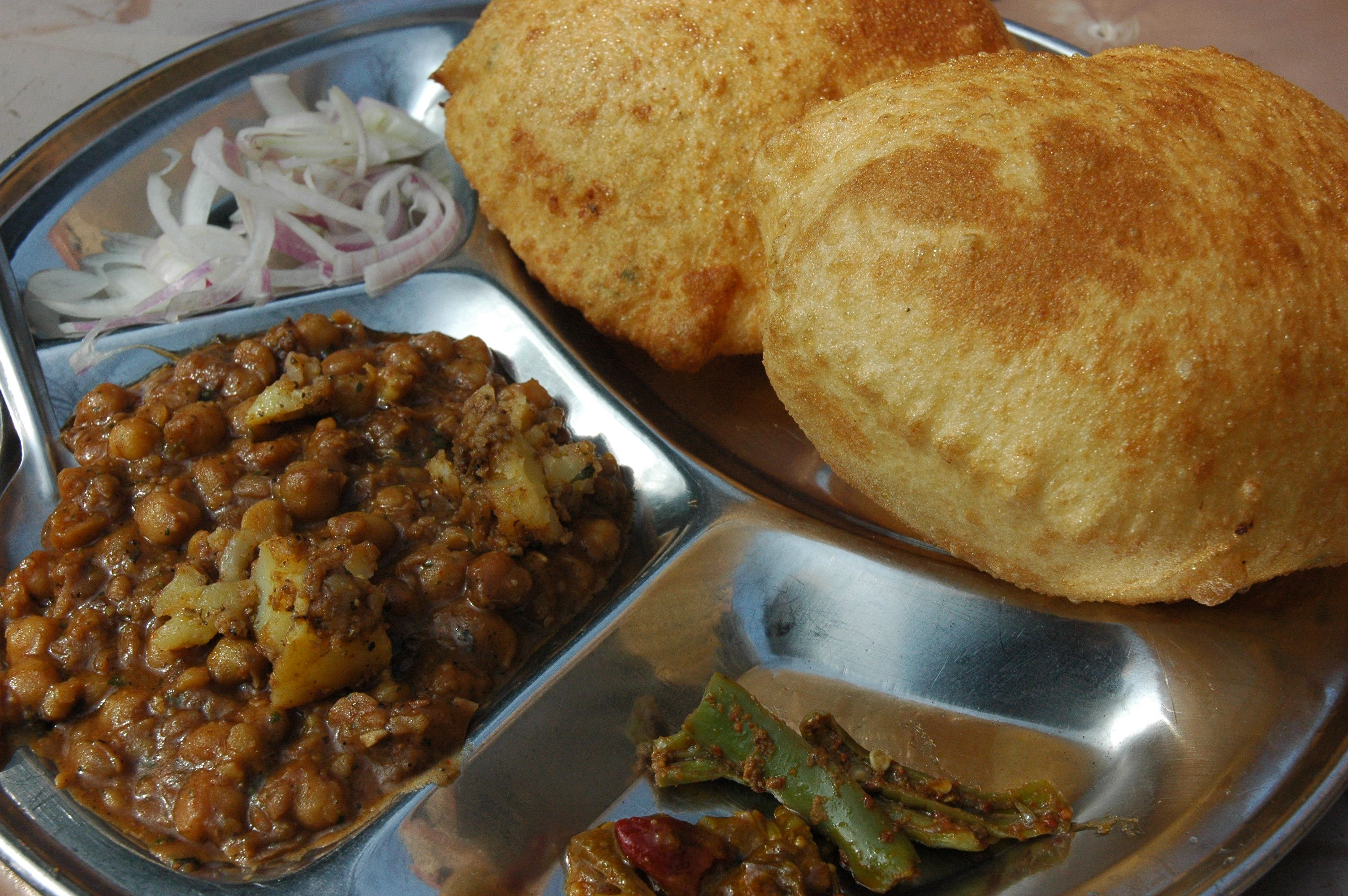 Cholle Bhature | Intrepid Real Food Adventures | Pinterest | Food ...