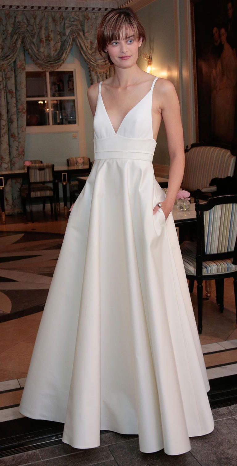 Delphine Manivet's Flowy Spring 2017 Wedding Dresses are