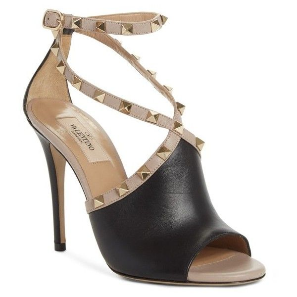 limited edition sale online Valentino Rockstud peep toe sandals extremely sale online perfect cheap online l71xfdznZh