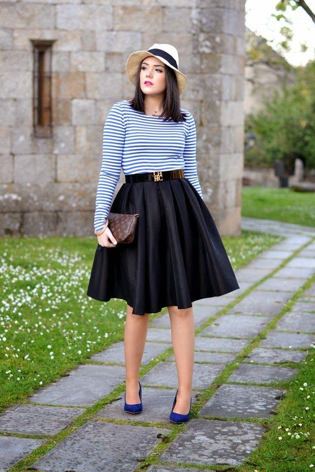 82a98cbea7 falda midi negra