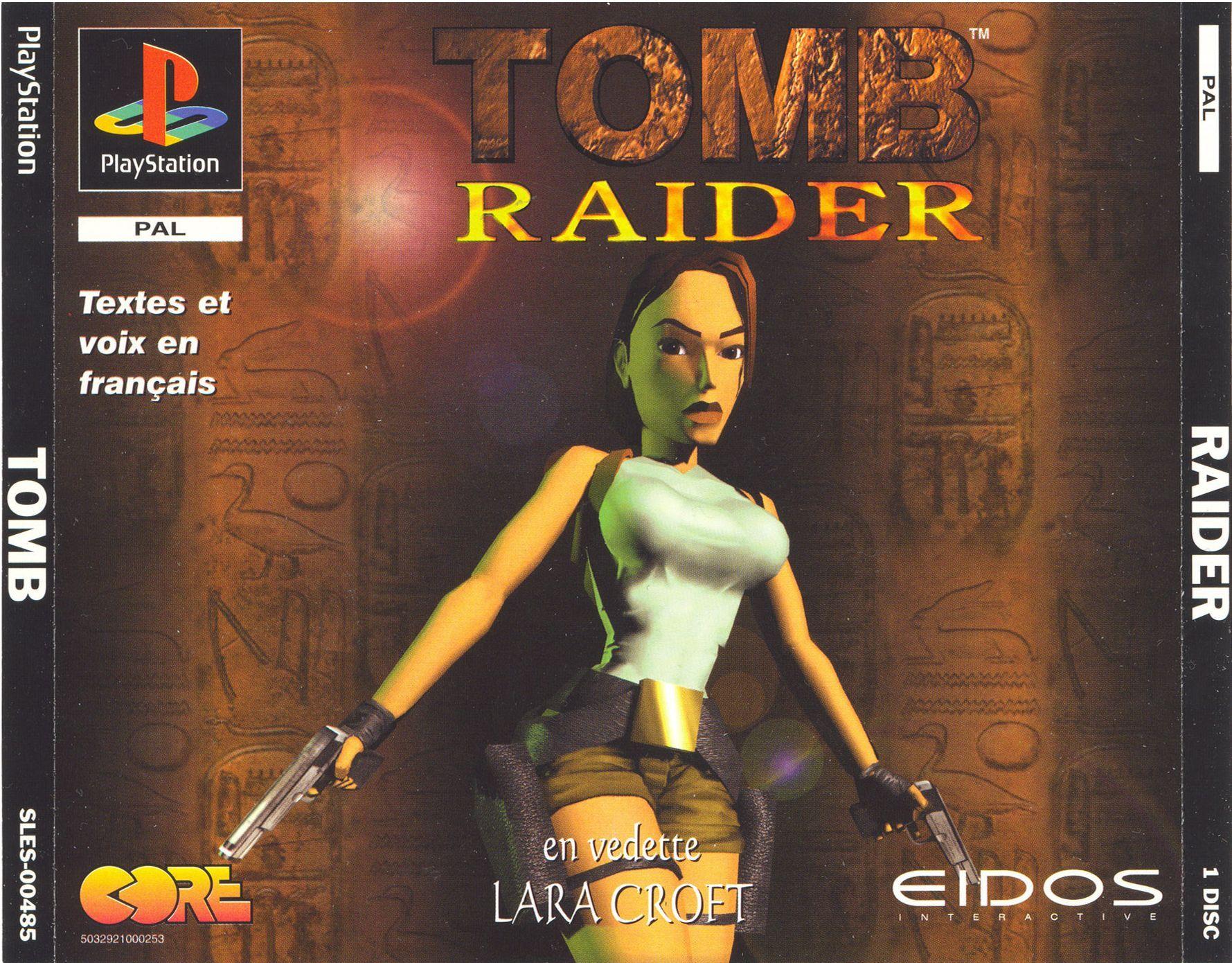 Tomb Raider Pal Front Tomb Raider Game Original Tomb Raider