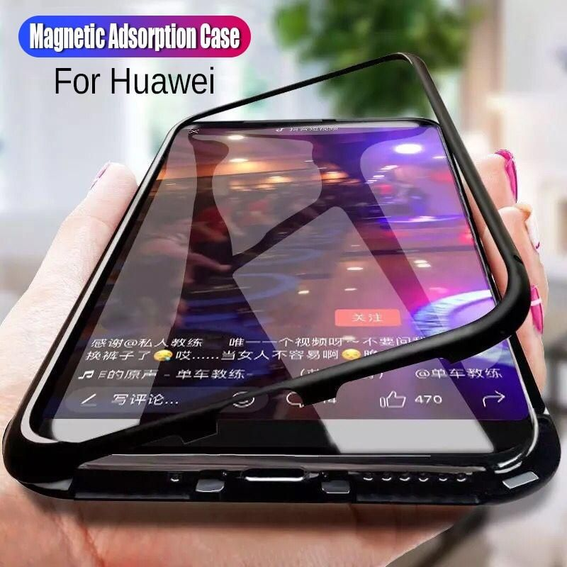 Case for huawei Y9 2019 Magnetic Adsorption Cases For huawei