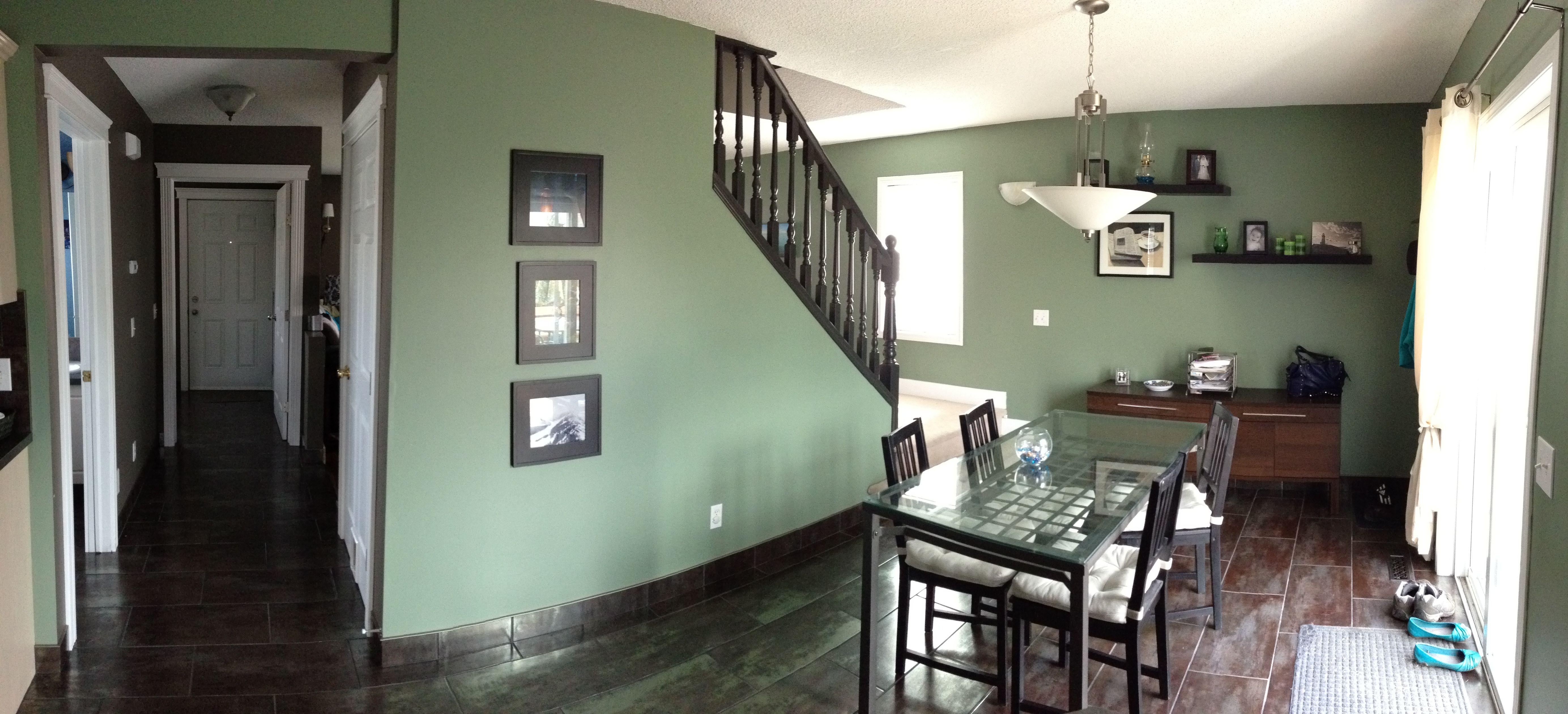 Paint Color Loving My New Green Walls Benjamin Moore High