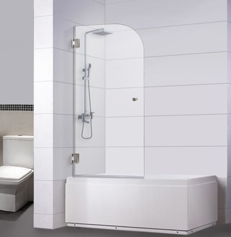 First Step To Loving Our Tiny Master Bath Bath Shower Doors Shower Doors Shower Remodel