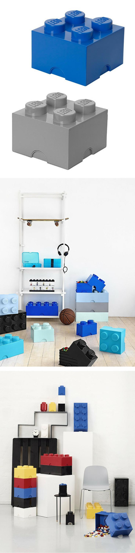 Perfekt für LEGO Steine und Co Spielzeugkiste im LEGO