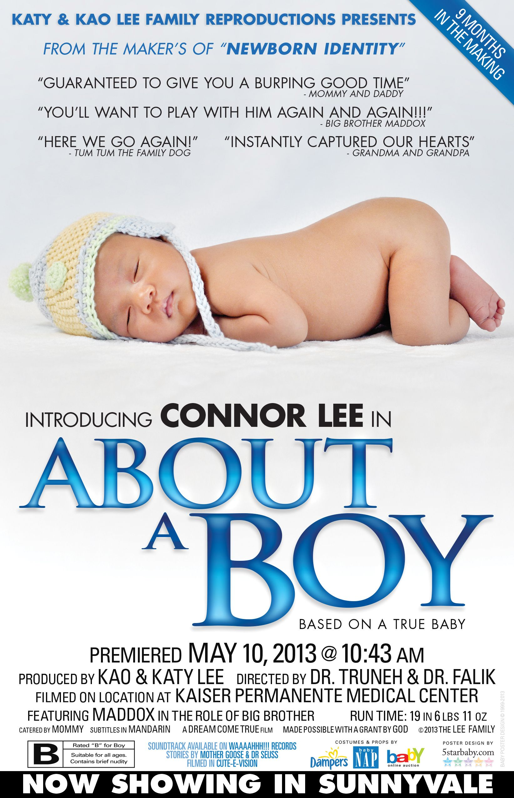 custom movie poster baby announcement www5starbabycom baby newborn birth_announcements announcements boy
