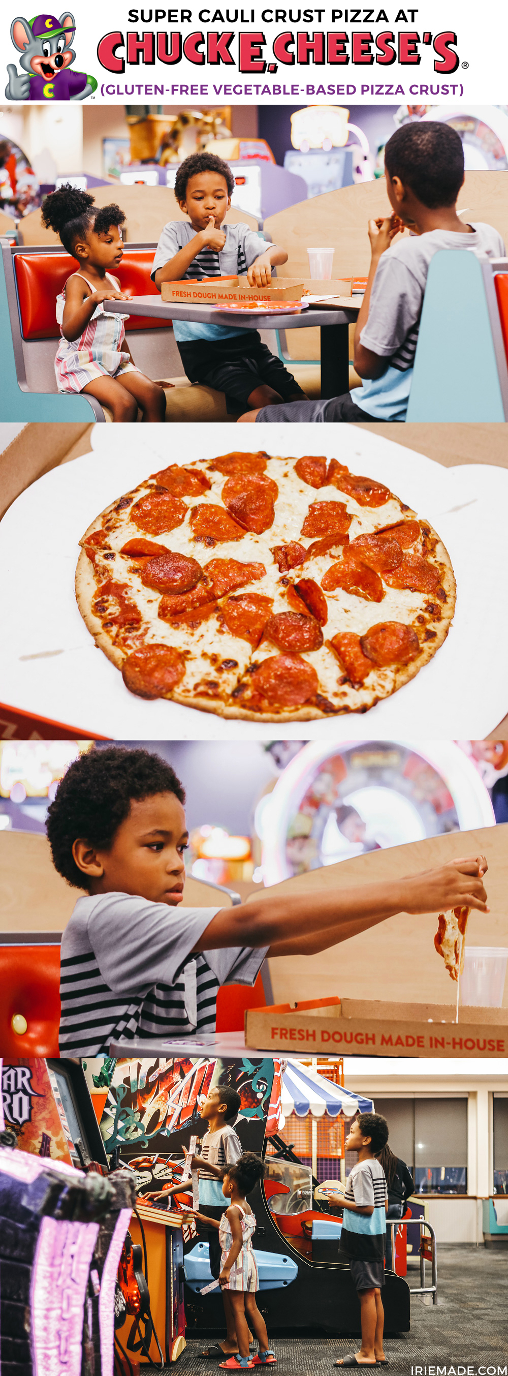 #AD   Did you know that Chuck E. Cheese has a new ...