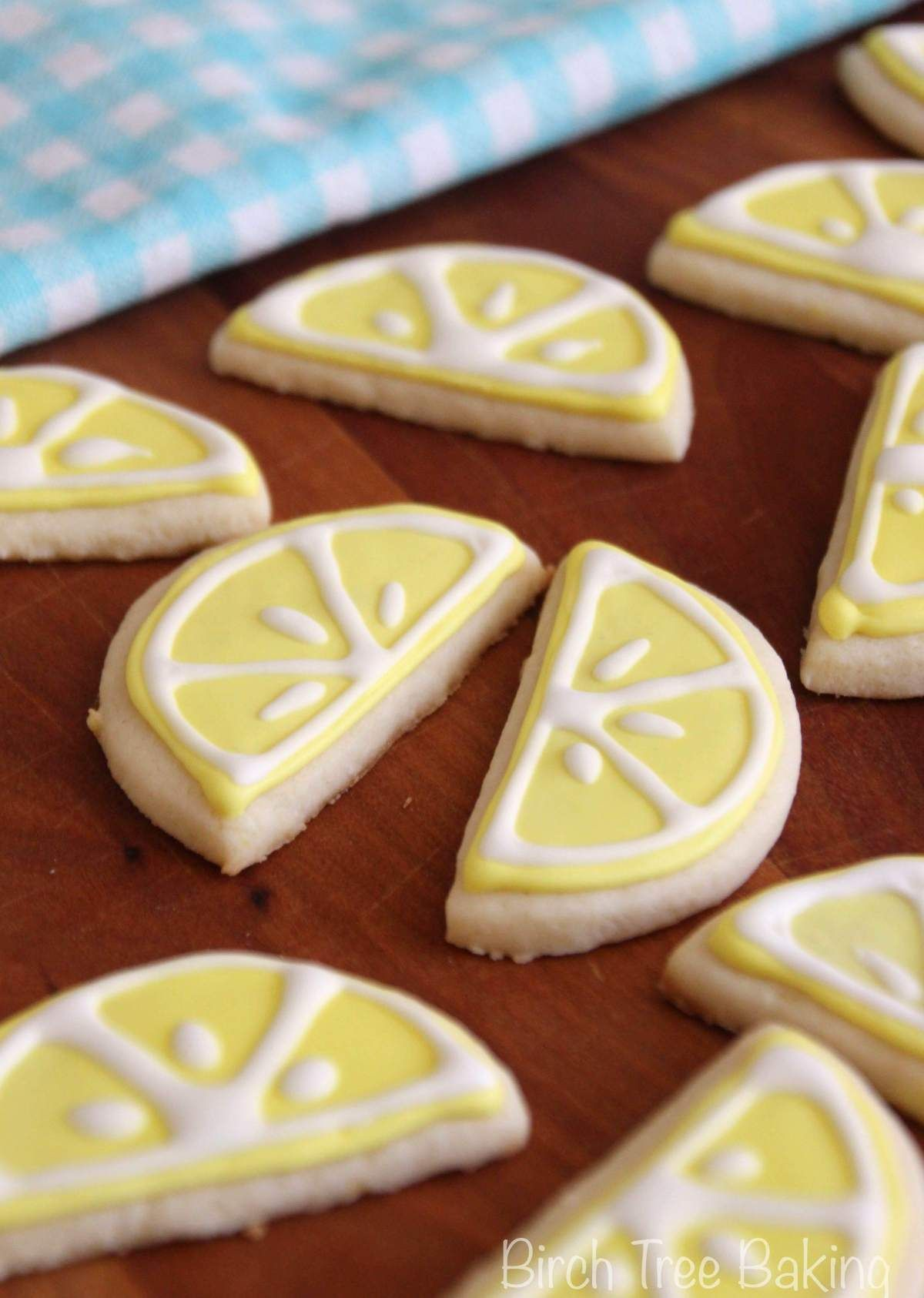 Lemon Almond Sugar Cookies | Birch Tree Baking #sugarcookies