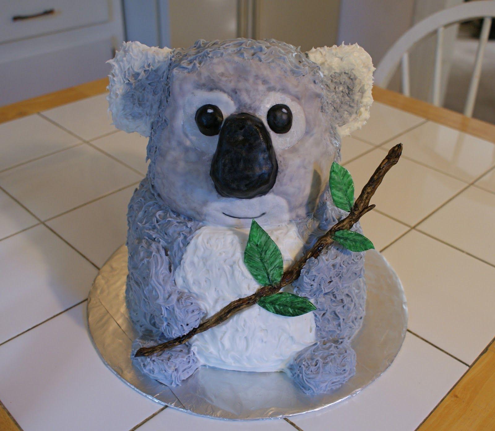 Swell Cakes By Meg Koala Bear Cake With Images Bear Cakes Koala Funny Birthday Cards Online Hetedamsfinfo
