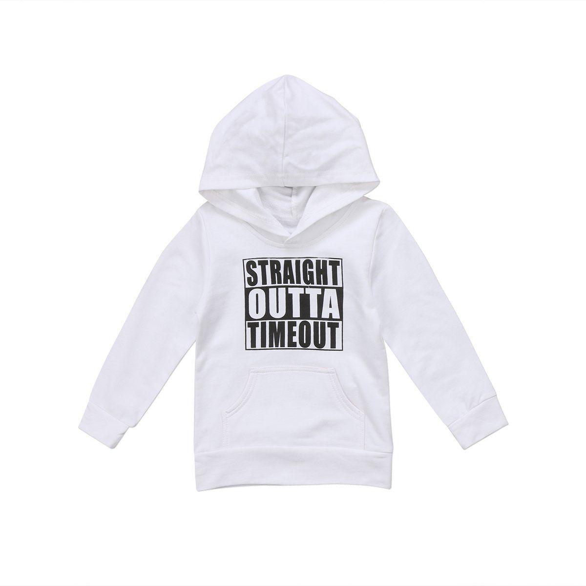 4t White Sweatshirt