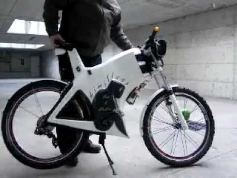 Limitless Gas Electric Bicycle