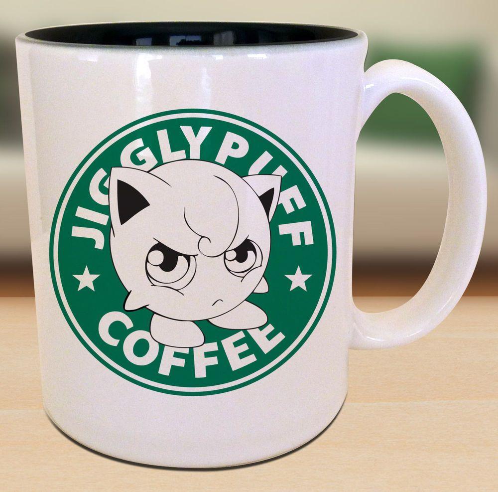 Jigglypuff pokemon starbucks anime manga japanese insipred