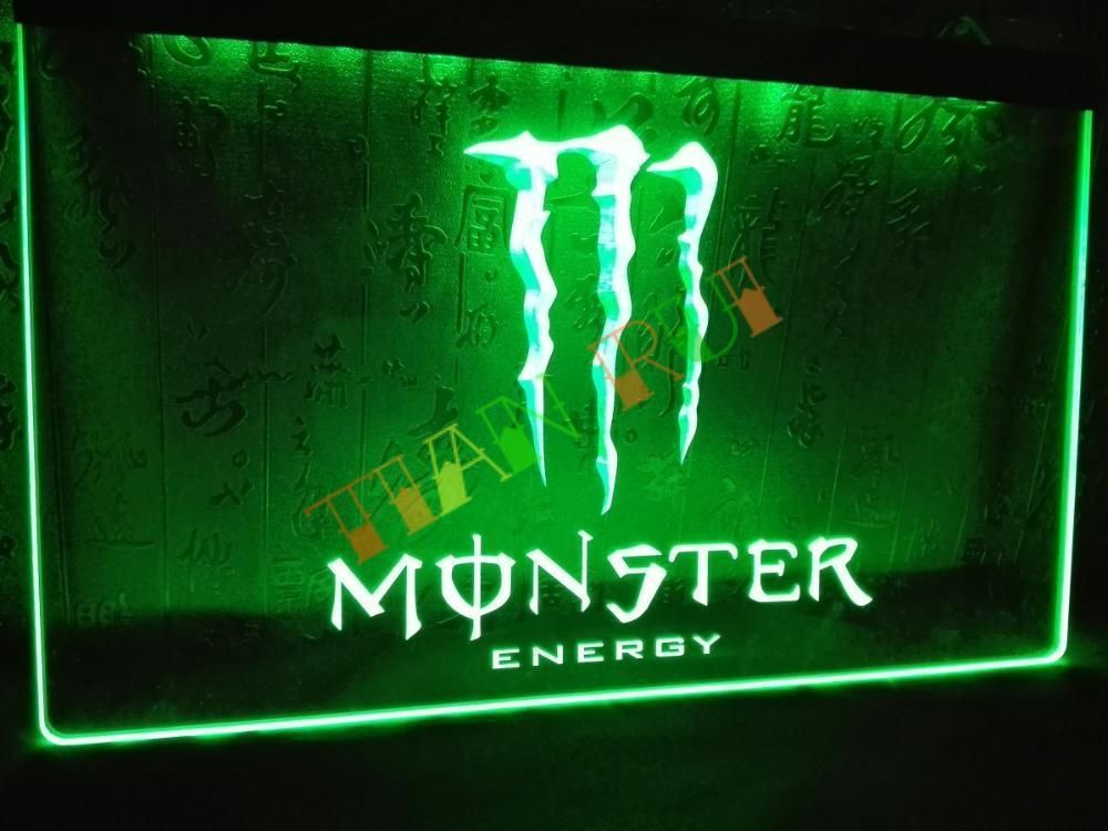 Led Sign Home Decor Entrancing Le207 Energy Drink Led Neon Light Sign Home Decor Shop Crafts Review
