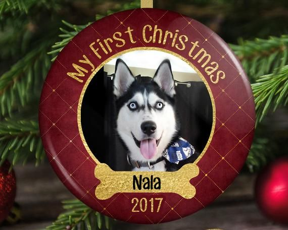 Dogs First Christmas Ornament.Dog S First Christmas Ornament Puppy S First Christmas
