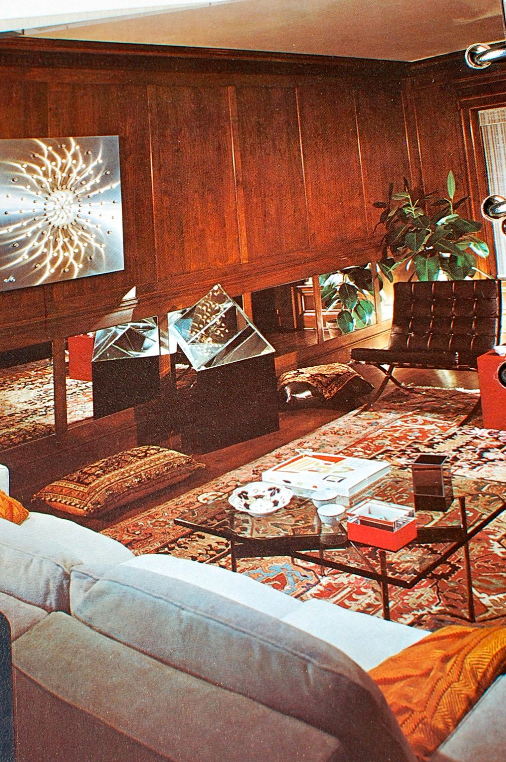 Better homes and gardens decorating book 1975 midcentury - Better homes and gardens interior designer ...