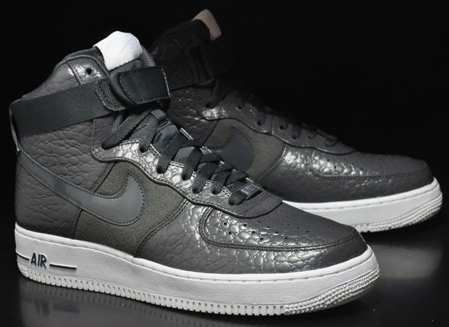 nike air force 1 grey snakeskin boots