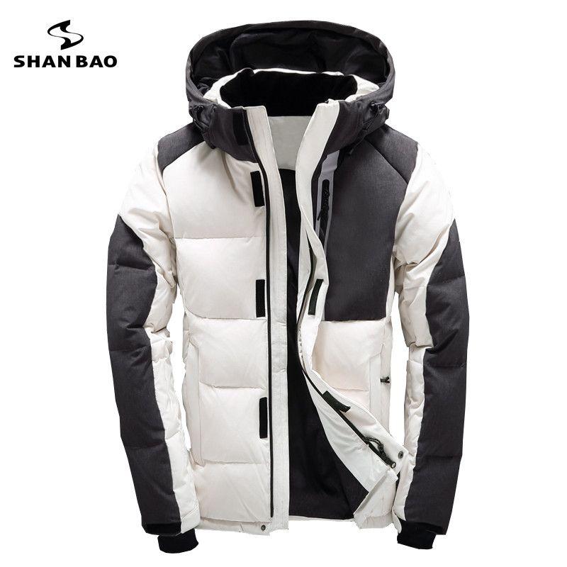 2017 Asesmay Marke Kleidung Winter Männer Jacke Mode