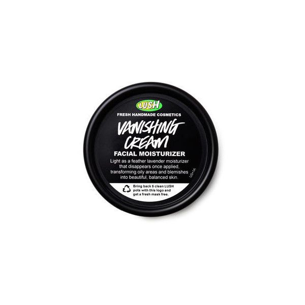 Vanishing Cream ($45) ❤ liked on Polyvore featuring beauty products, bath & body products, body moisturizers, bath & body care, filler, lush and body moisturizer