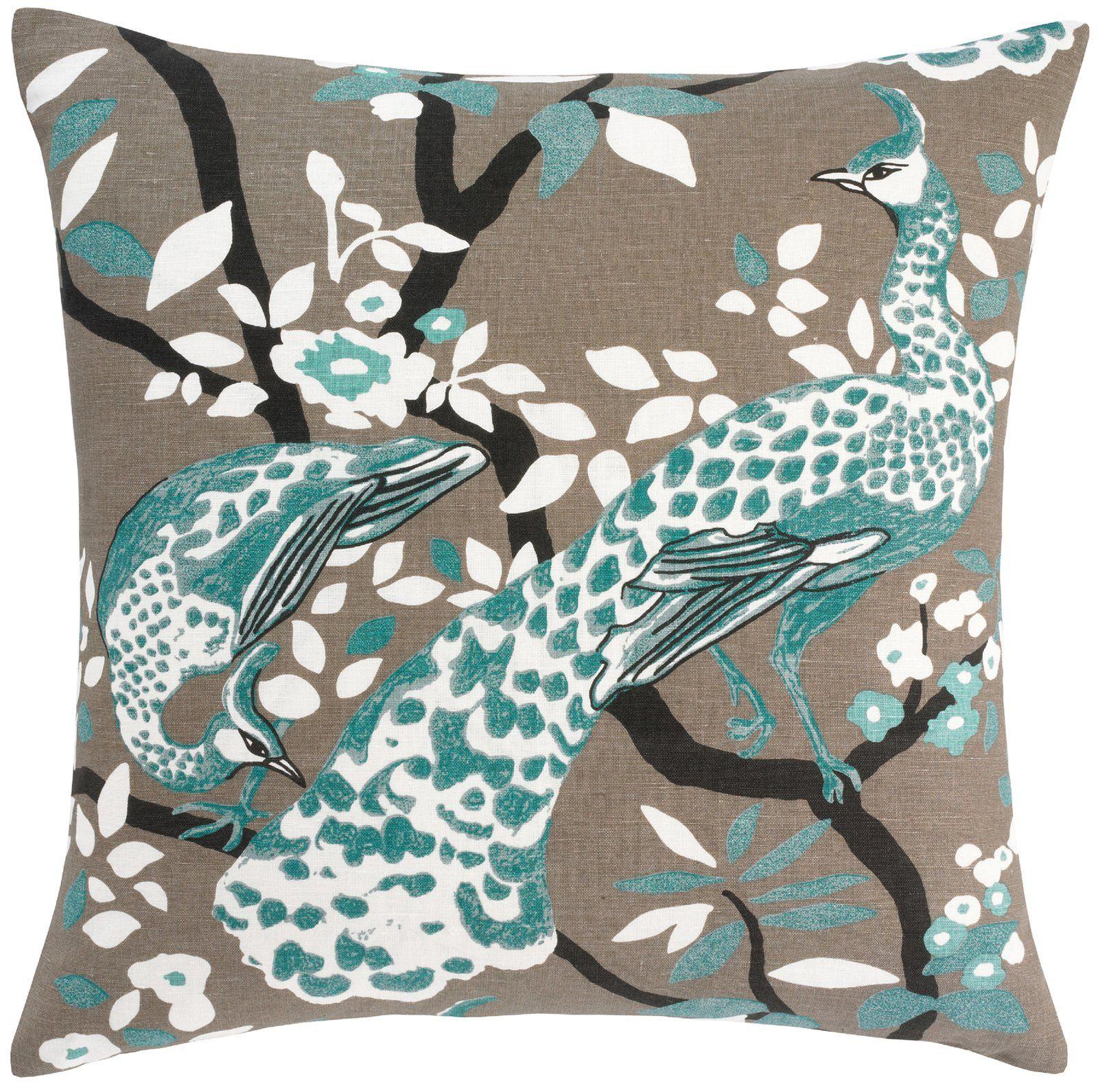 Dwellstudio Peacock Pillow Casa Com Peacock Decorative Pillows