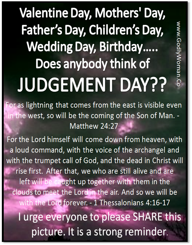 Judgement Day Biblical quotes, Spiritual quotes, Word of god