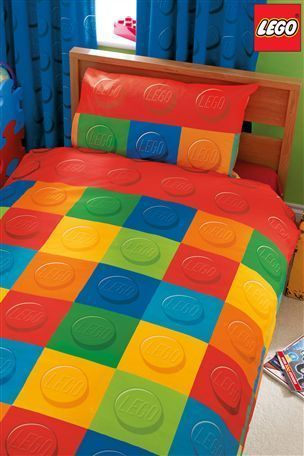 LEGO BRICK BLOCK single duvet cover bed set *BRAND NEW SEALED* duna ...