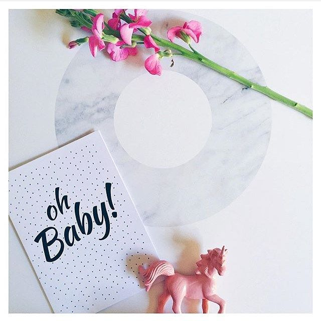 @thisismissjanine   Very cute flatlay, using our Marble O of the XO Set…
