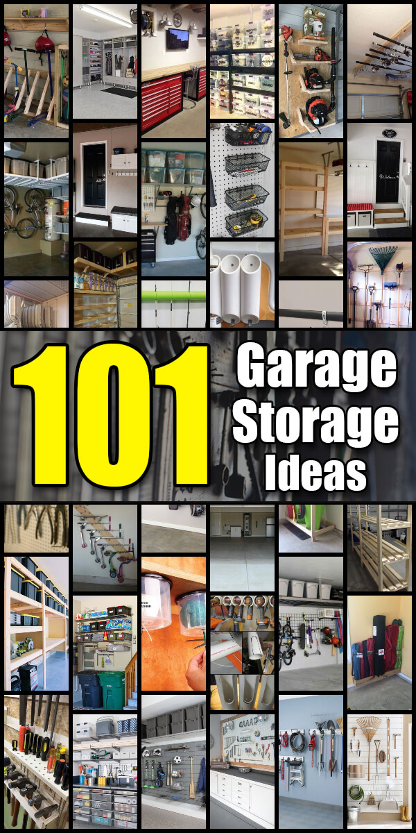 Photo of 101 Garage Organization Ideas That Will Save You Space! – Mr. DIY Guy