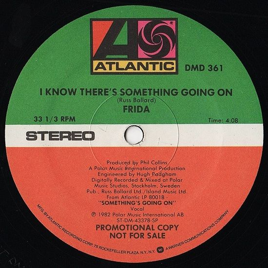 I Know There's Something Going On | Frida - I Know There's Something Going On (promo)