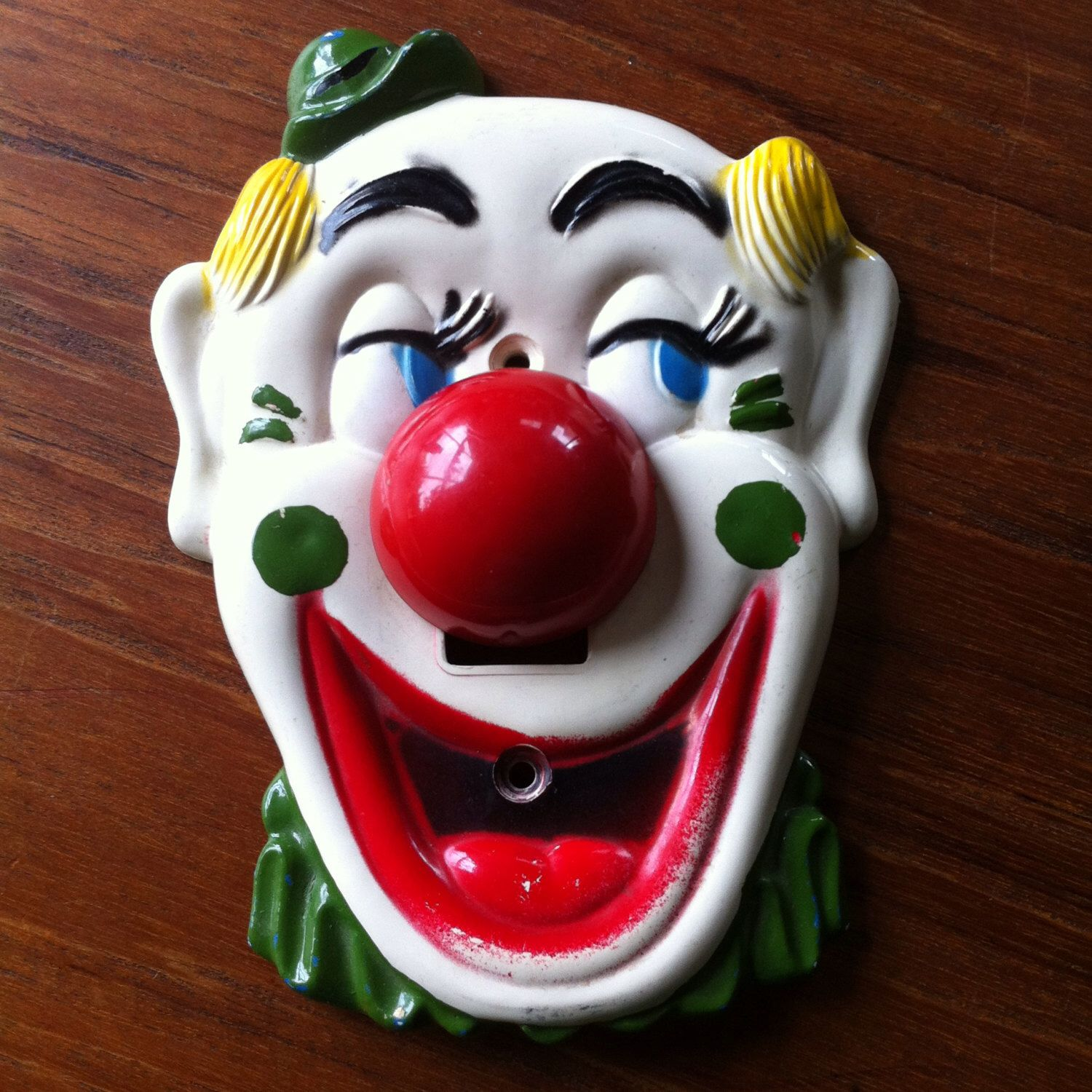 Vintage Flicko Clown Face Light Switch Plate Wall Cover Kids Etsy Light Switch Plates Plates On Wall Light Switch Plate Cover