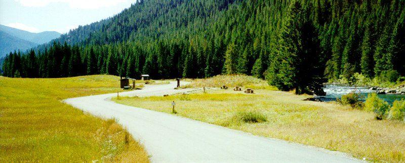 Moose Creek Flat Campground Gallatin Gateway Mt Photo 2