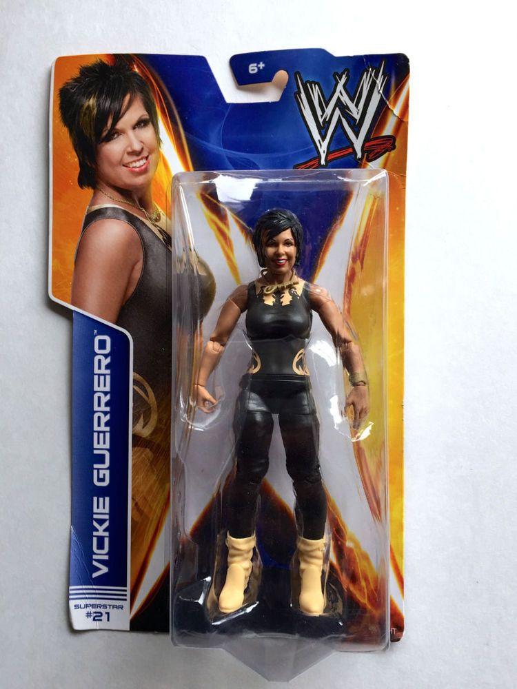 WWE Diva Vickie Guerrero Superstar #21 Mattel Wrestling Action Figure New