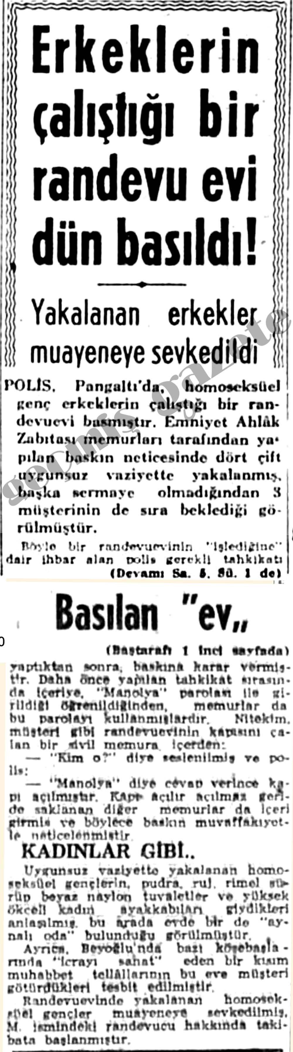 Türk travesti twitter