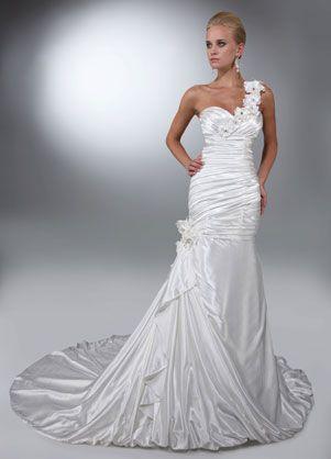 Da Vinci Wedding Gown ~ Flower Goddess Bride ( Amazing shape with ...