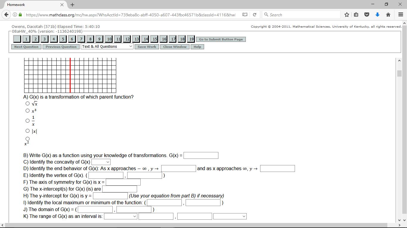 Mi clase de matemáticas es muy difícil y frustrante. En clase, nosotros usamos clase de internet a completar deberes.