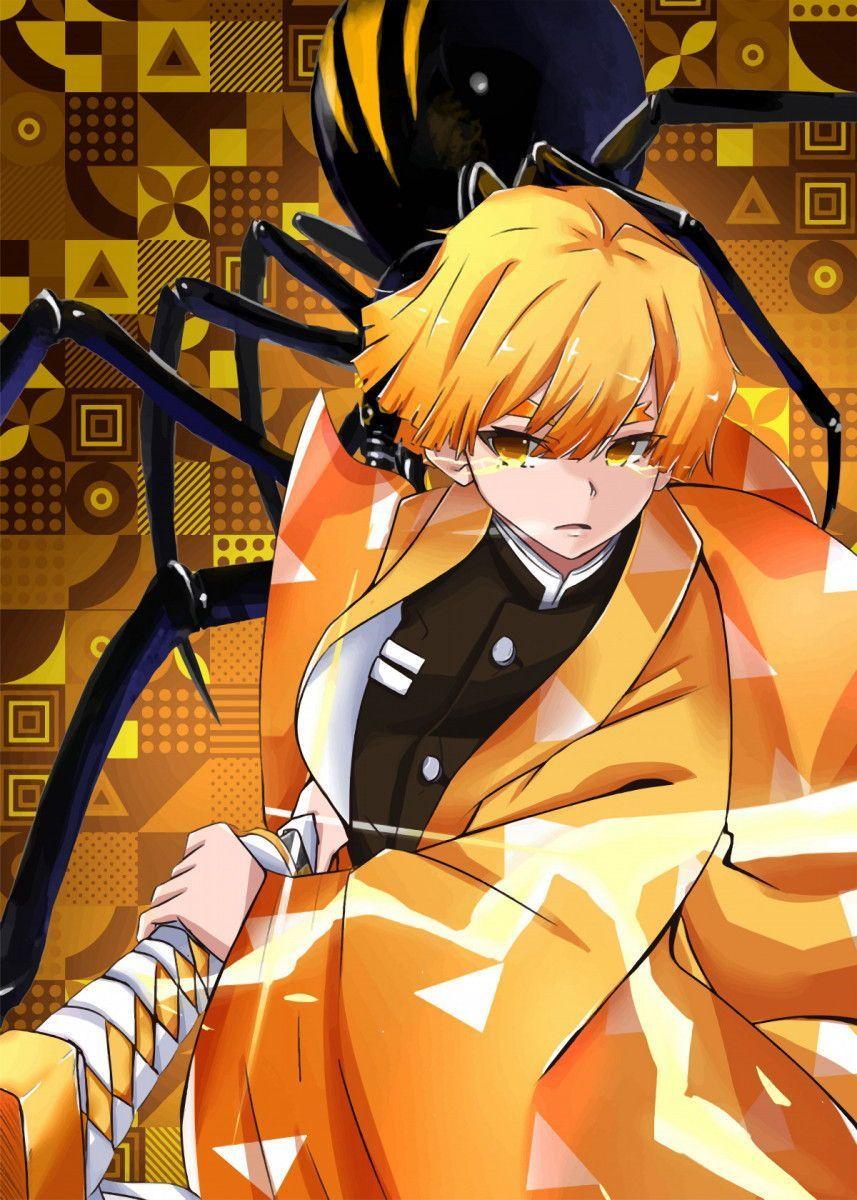Demon slayer zenitsu in 2020 slayer anime demon