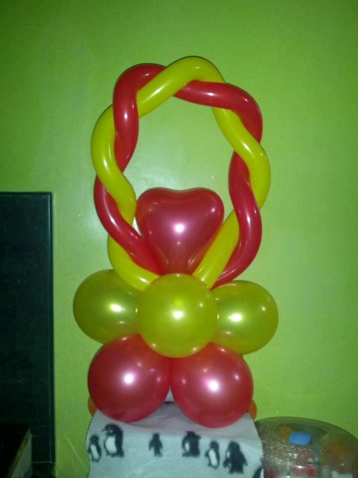 Heart Balloon Centerpiece