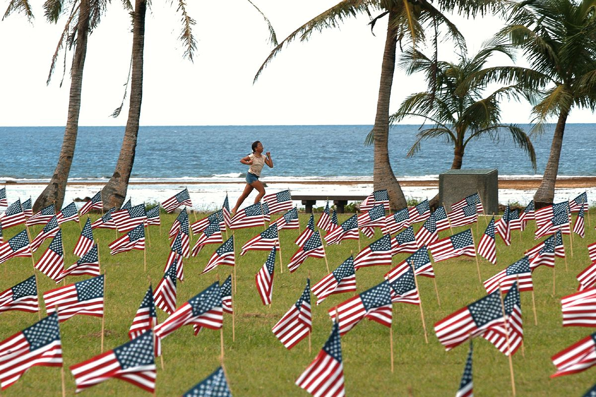 memorial day at the beach