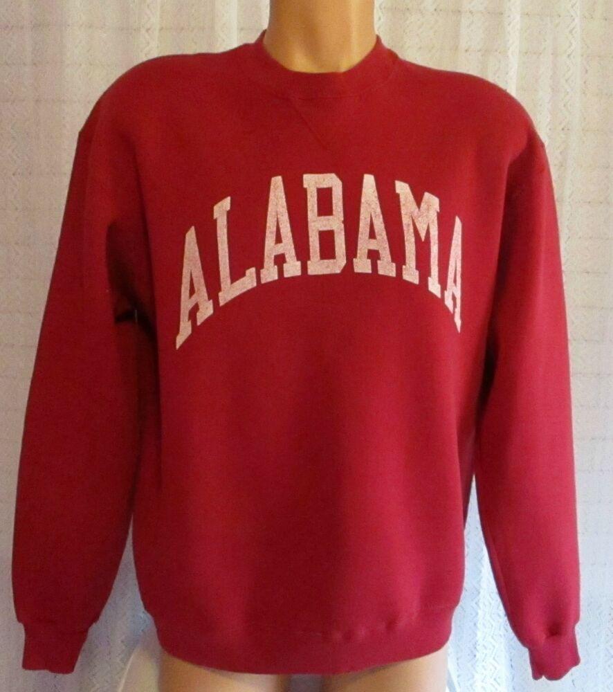 Russell Athletic Unisex Alabama Crimson Tide Crewneck Sweatshirt Size Xl Russellathletic Alabamacrimsontide [ 1000 x 886 Pixel ]