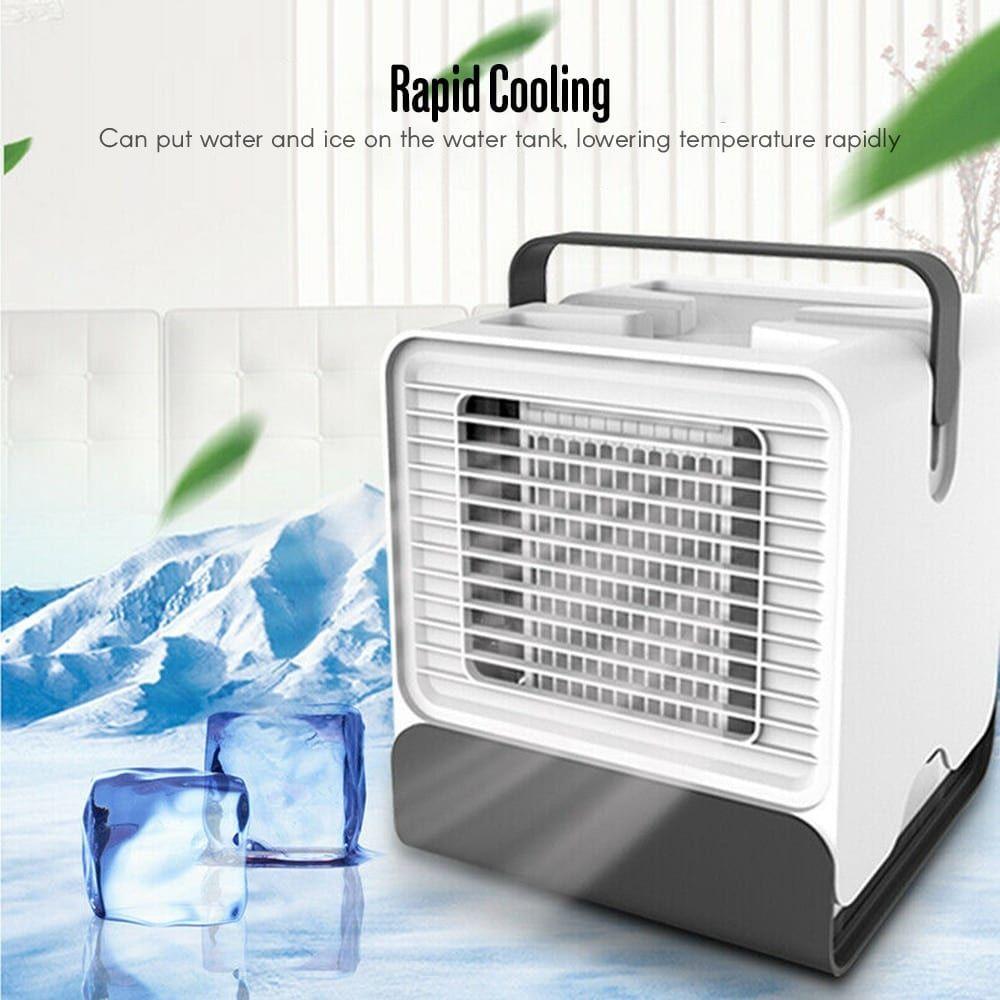 Best Quiet Mini Portable Air Cooler Conditioner Cool Fan