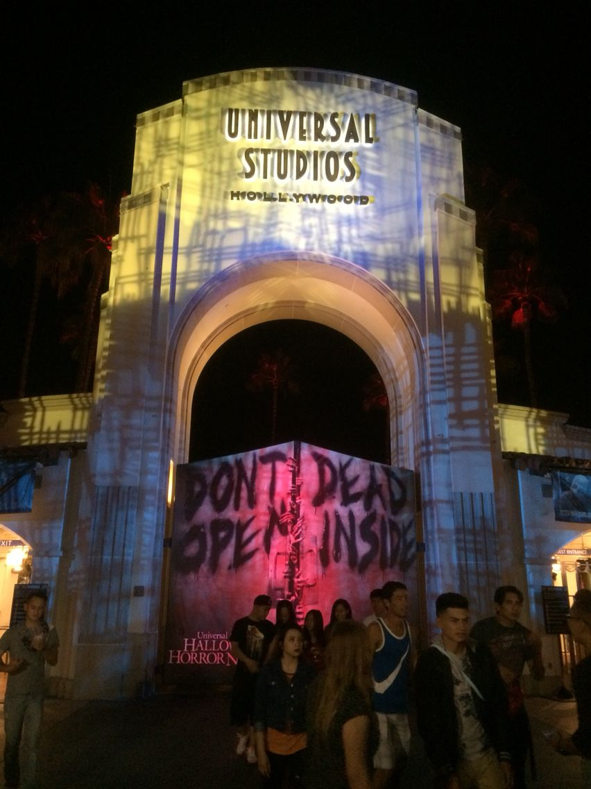 Halloween Horror Nights Hollywood!