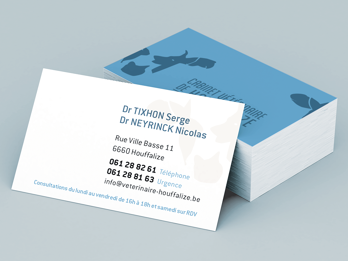 LOGO and business card for a vet/// pet vet cow turtoise rabbit ...