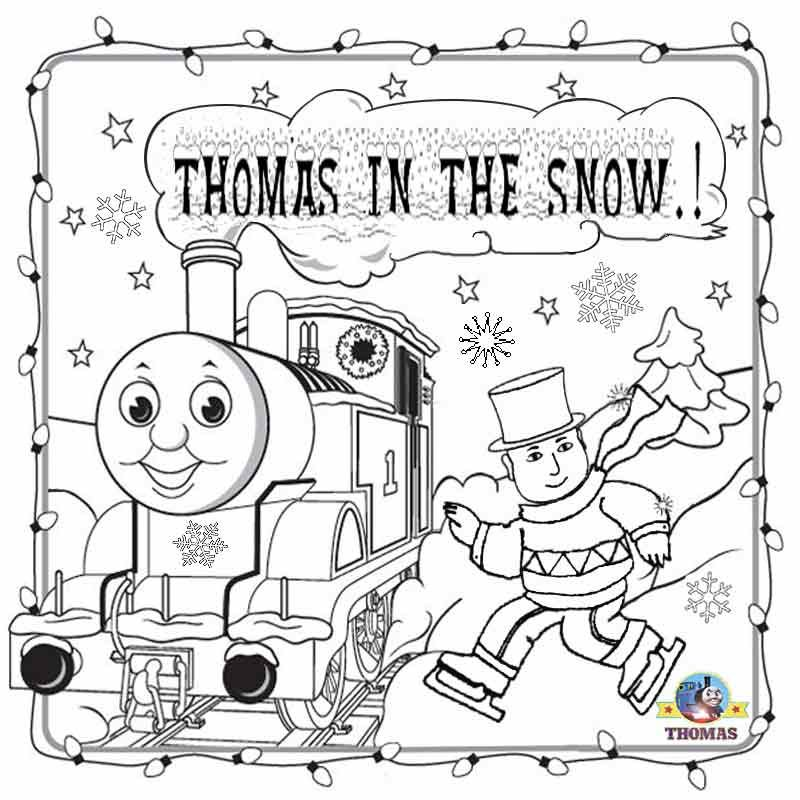 Kids Coloring Sheet | Printable Coloring Pages for Kids | Thomas ...