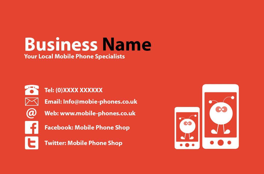 Mobile phone shop business card front designed by me at nics mobile phone shop business card front designed by me at nics designs colourmoves