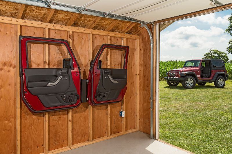 Door Storage Hanger For 76 19 Jeep Cj 7 Wrangler Yj Tj