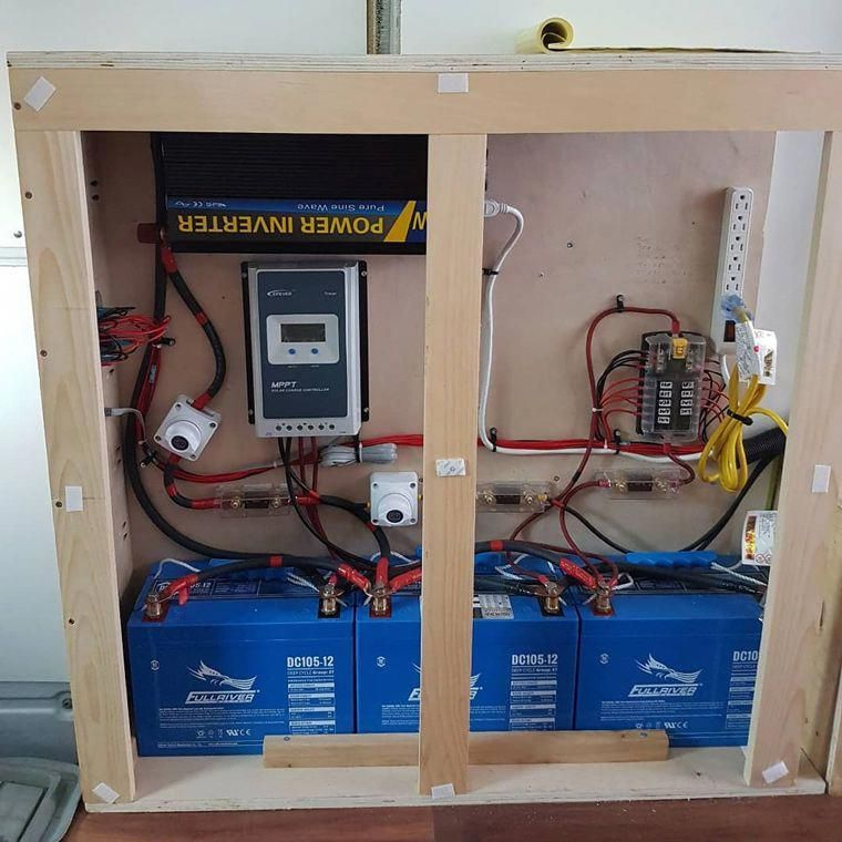 Photo of How to build a solar panel system and battery set up in your diy camper van conv…