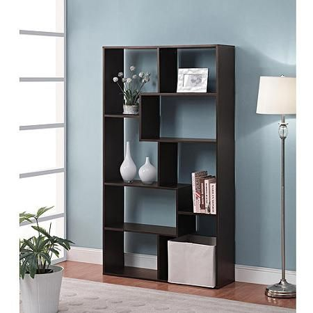Mainstays Home 8 Shelf Bookcase Multiple Finishes