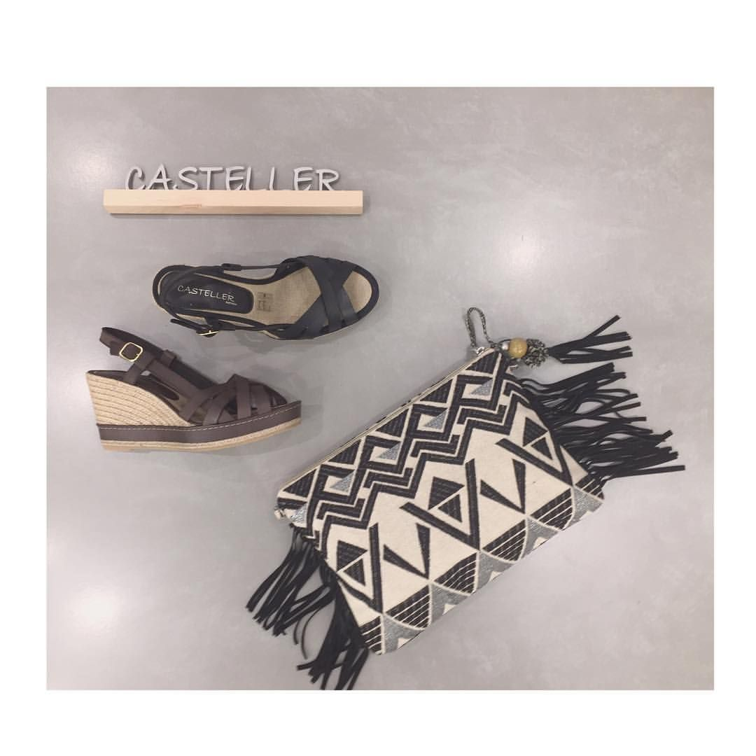http://www.calzadosbeguer.com/154212-casteller-yute.html #fashionblogger #fashionista #shoestagram #shoppingonline #shoes #esparto #bags