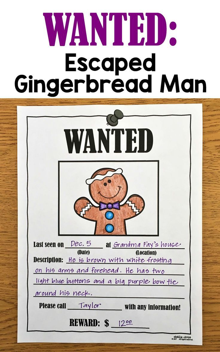 Gingerbread Man Writing Prompts Gingerbread Man Writing Christmas Writing Gingerbread Man [ 1177 x 736 Pixel ]
